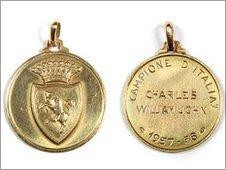 John Charles' Italian league winner's medal