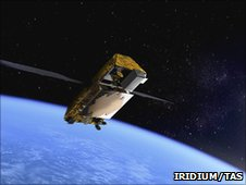 Next satellite (Iridium/TAS)