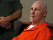 Ronnie Lee Gardner in court
