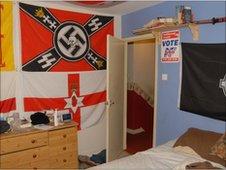 Michael Heaton's bedroom