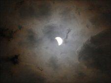 Eclipse, seen from Queensland, Australia - 26 June 2010