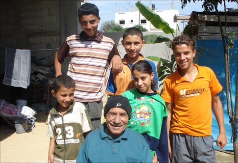 Abu Talal and some family