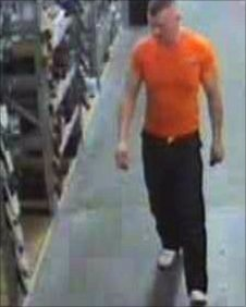 CCTV image of Moat in Newcastle shop