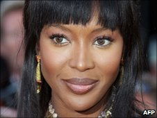 Naomi Campbell at Cannes in May