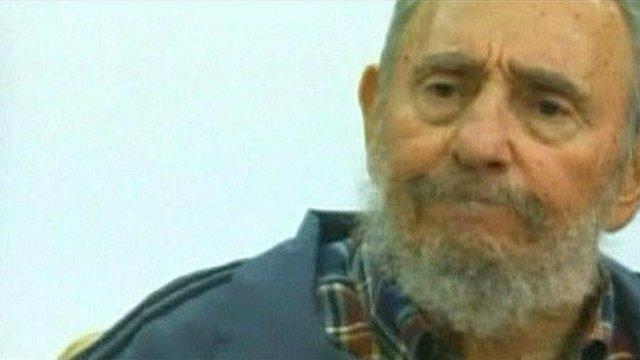 Cuba's ex-President Fidel Castro