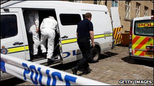 Police searching for evidence in Bradford