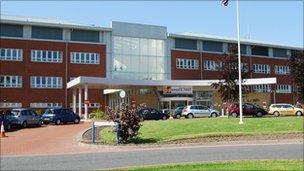 Cumberland Infirmary, Carlisle