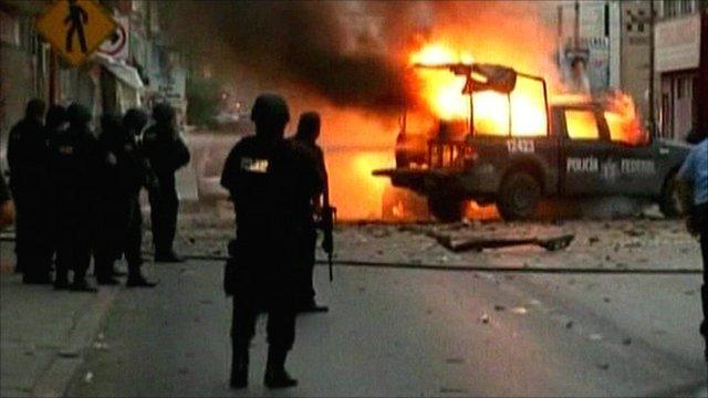 Ciudad Juarez car bomb attack