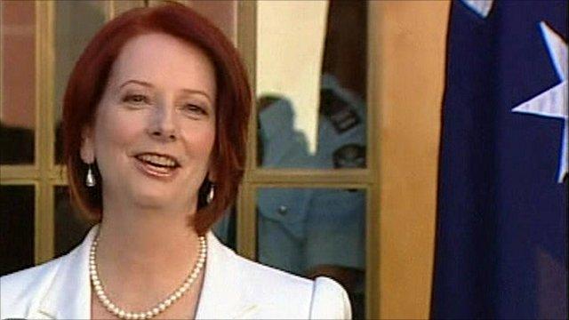 Australia's PM Julia Gillard