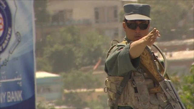 Kabul policeman