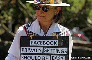 Privacy protester