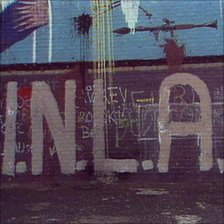 INLA graffiti