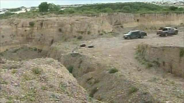 Mass graves in Mexico