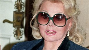 Zsa Zsa Gabor pictured in 1982