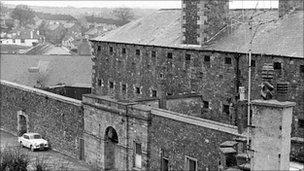 Former prison in Haverfordwest
