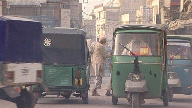 Peshawar street scene