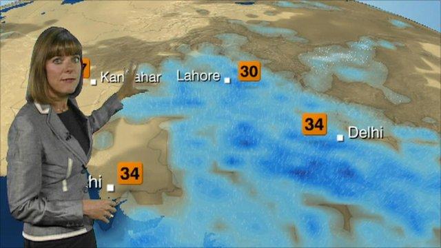 BBC Weather forcast