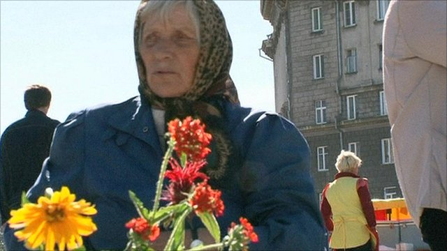 Russian pensioner