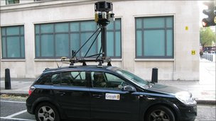 Google Street View car, Getty