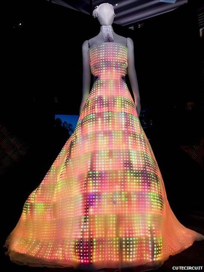 Bbc News Would You Wear An Electric Dress