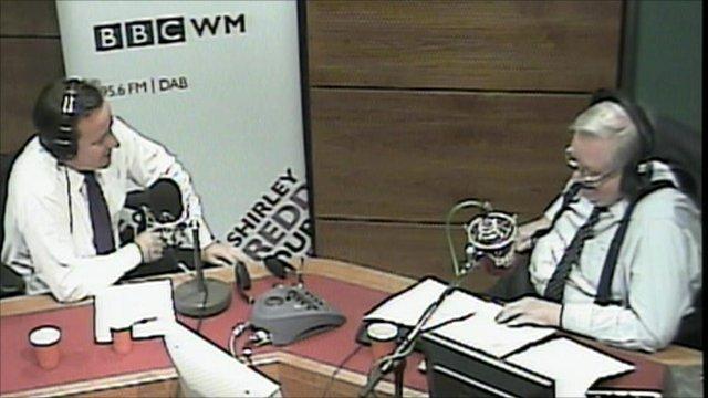 David Cameron on BBC WM