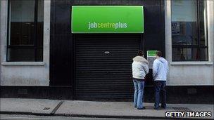 Job Centre, file pic