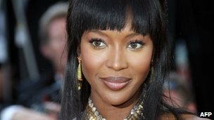 Naomi Campbell (file picture)