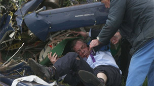 Nigel Farage crash