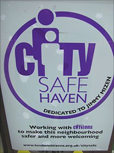 CitySafe sticker