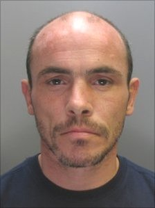 Brian Buckley, from Wrexham, who was jailed for life for murdering his partner Leah Ingham