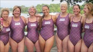 London club swimmers