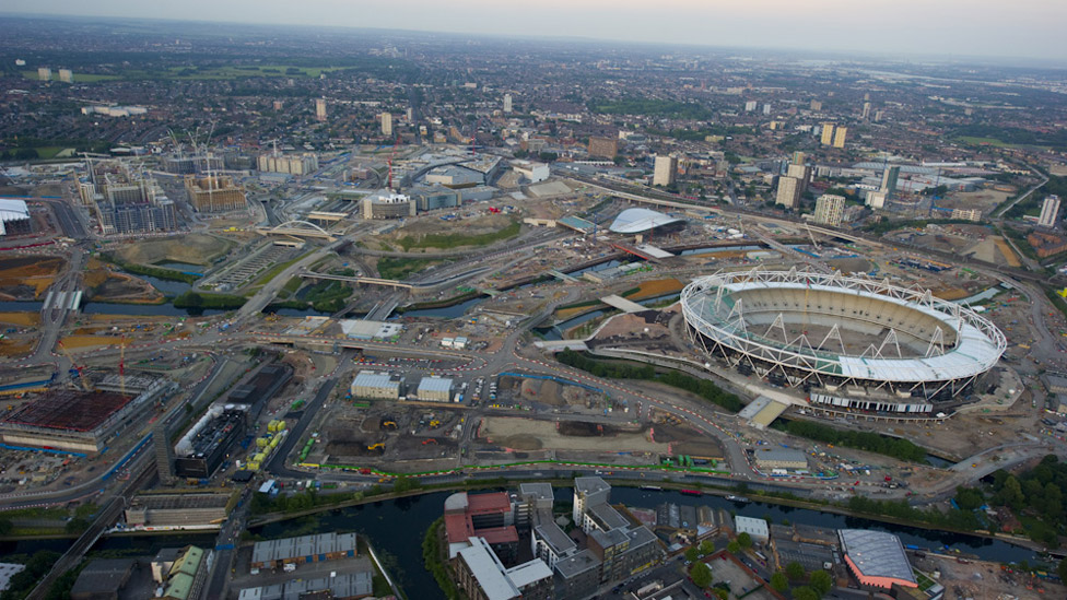 Bbc News In Pictures London From Above