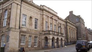 Jedburgh Sheriff Court - Crown copyright image