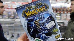 World of Warcraft packaging