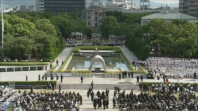 Hiroshima 65th anniversary ceremony