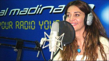 Honey al-Sayyed of Madina FM