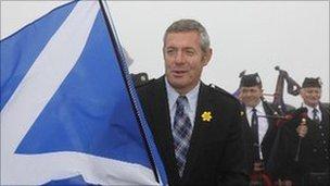Former Scottish rugby captain Gavin Hastings
