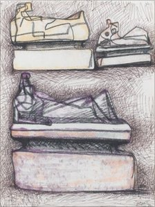 Henry Moore sketch Three Reclining Figures On Pedestals that was stolen from a Worcestershire art gallery