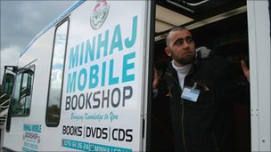 Mohammed Kamran and the mobile library