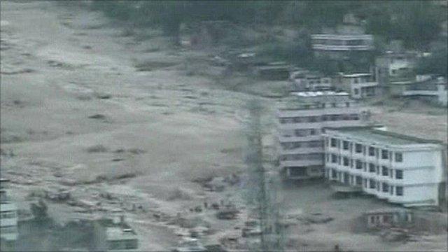 China mudslide