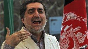 Abdullah Abdullah, file image