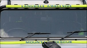 Langdale Ambleside Mountain Rescue Ambulance
