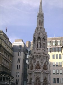 Eleanor's Cross at Charing Cross