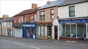 Shops on Victoria Road, Swindon