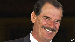 Former Mexican president Vicente Fox in 2005