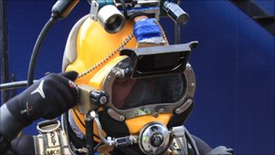 Diver. Pic: The Underwater Centre
