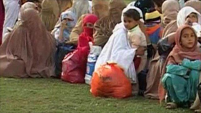 People rescued in Pakistan