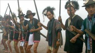 Tribal community in India