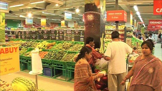New Carrefour supermarket
