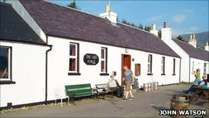 Old Forge, Inverie. Pic: John Watson/Geograph